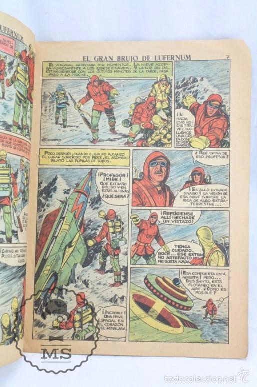 Tebeos: Cómic Rock Vanguard - Nº 1. El Gran Brujo de Lufernum - Ed. Rollán, Año 1958 - Rareza / Difícil - Foto 2 - 57948523