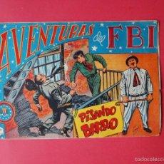 Tebeos: AVENTURAS DEL FBI Nº 128 - PISANDO BARRO - POR LUIS BERMEJO - EDITORIAL ROLLÁN. Lote 57986830