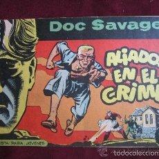 Tebeos: DOC SAVAGE Nº 7. ALIADOS EN EL CRIMEN. HERNANDEZ PALACIOS. EDITORIAL ROLLÁN 1961 TEBENI. Lote 58082412