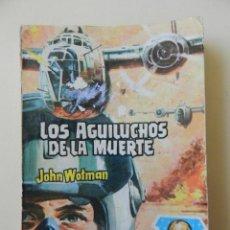 Tebeos: PATRULLA DE COMBATE 55 LOS AGUILUCHOS DE LA MUERTE JOHN WOTMAN EDITORIAL ROLLAN 1963 BOLSILIBRO PULP. Lote 58360211
