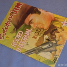 Tebeos: SOLITARIO JIM - RODEO INFERNAL - EDICIÓN ROLLAN - 1959 - BUEN ESTADO GENERAL - MUY ANTIGUO. Lote 58570128