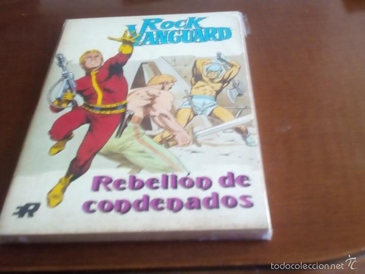 Tebeos: ROCK VANGUARD COLECCION COMPLETA N-1 AL 6 - Foto 4 - 58823316
