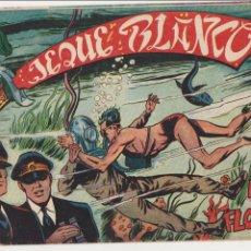 Tebeos: JEQUE BLANCO Nº 37. ROLLÁN 1951.. Lote 60342911