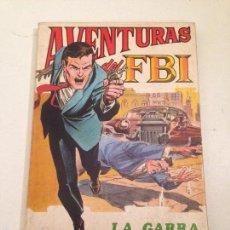Tebeos: AVENTURAS DEL FBI Nº 2. LA GARRA ESCARLATA. ROLLAN 1974.. Lote 60813875