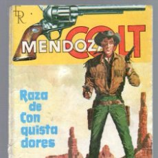 Tebeos: MENDOZA COLT Nº 1 EDITORIAL ROLLAN 64 PGS. . Lote 63269868