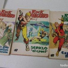 Tebeos: ROCK VANGUARD / ROLLAN 1974 / NUMEROS 1, 2 Y 4. Lote 65324615