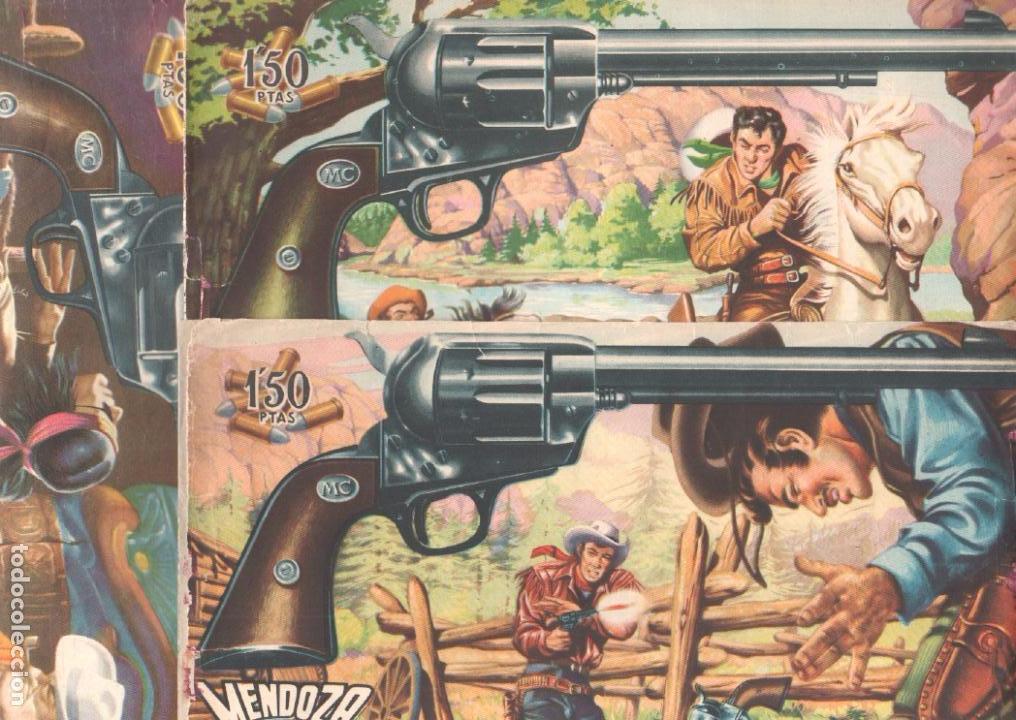 MENDOZA COLT ORIGINAL COMPLETA 1 AL 120 EDI. ROLLAN 1955 MAGNÍFICO ESTADO, DE LUJO (Tebeos y Comics - Rollán - Mendoza Colt)