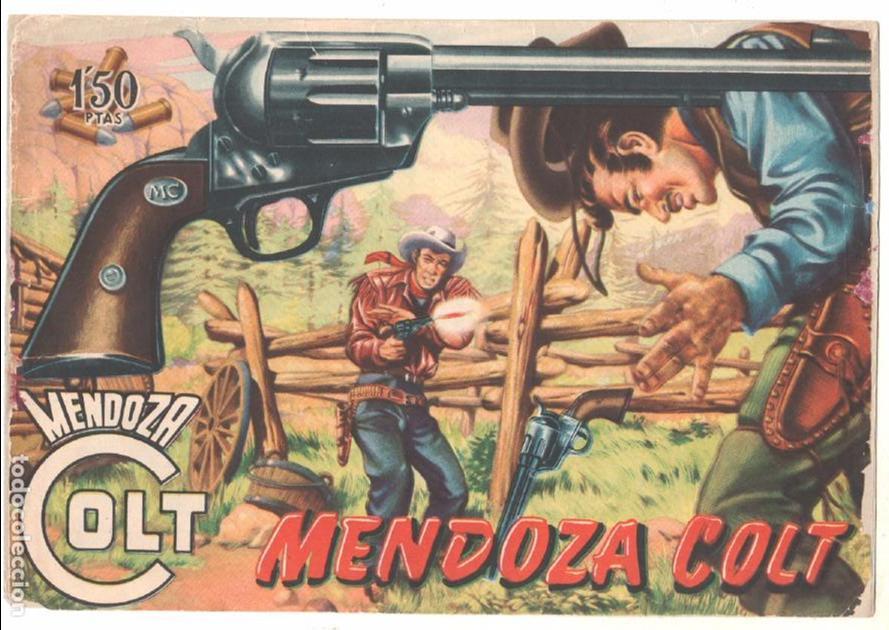 Tebeos: MENDOZA COLT ORIGINAL COMPLETA 1 AL 120 EDI. ROLLAN 1955 MAGNÍFICO ESTADO, DE LUJO - Foto 2 - 66049502