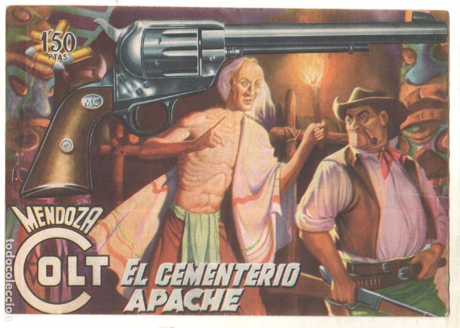 Tebeos: MENDOZA COLT ORIGINAL COMPLETA 1 AL 120 EDI. ROLLAN 1955 MAGNÍFICO ESTADO, DE LUJO - Foto 9 - 66049502