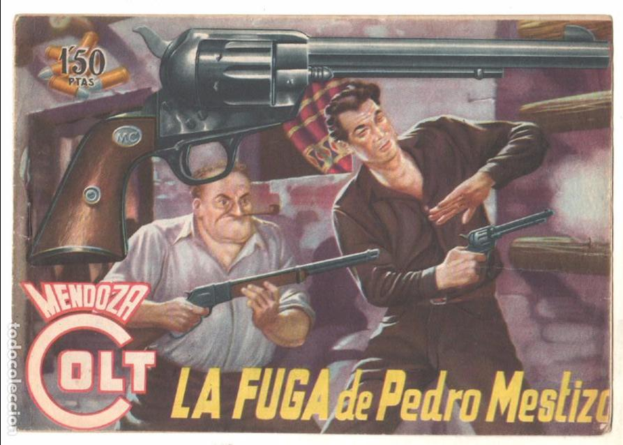 Tebeos: MENDOZA COLT ORIGINAL COMPLETA 1 AL 120 EDI. ROLLAN 1955 MAGNÍFICO ESTADO, DE LUJO - Foto 10 - 66049502