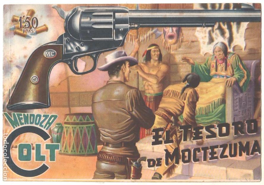 Tebeos: MENDOZA COLT ORIGINAL COMPLETA 1 AL 120 EDI. ROLLAN 1955 MAGNÍFICO ESTADO, DE LUJO - Foto 11 - 66049502