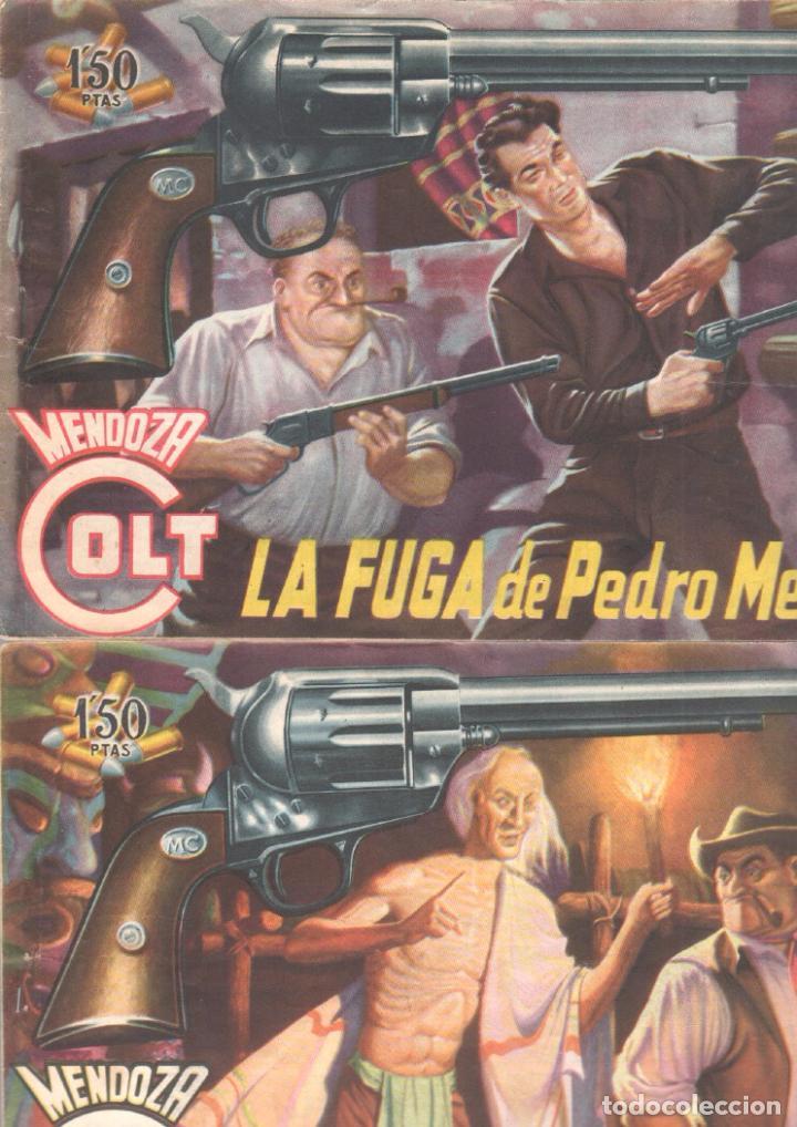 Tebeos: MENDOZA COLT ORIGINAL COMPLETA 1 AL 120 EDI. ROLLAN 1955 MAGNÍFICO ESTADO, DE LUJO - Foto 14 - 66049502