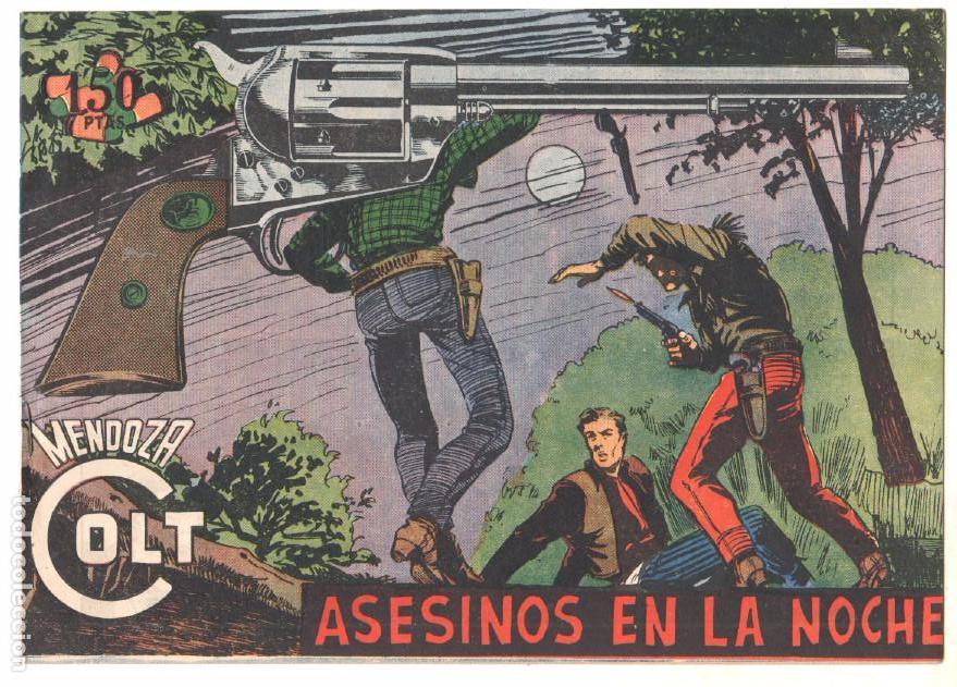 Tebeos: MENDOZA COLT ORIGINAL COMPLETA 1 AL 120 EDI. ROLLAN 1955 MAGNÍFICO ESTADO, DE LUJO - Foto 22 - 66049502