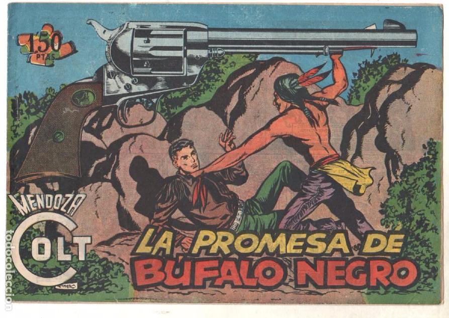 Tebeos: MENDOZA COLT ORIGINAL COMPLETA 1 AL 120 EDI. ROLLAN 1955 MAGNÍFICO ESTADO, DE LUJO - Foto 25 - 66049502