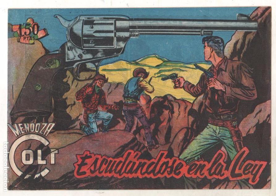 Tebeos: MENDOZA COLT ORIGINAL COMPLETA 1 AL 120 EDI. ROLLAN 1955 MAGNÍFICO ESTADO, DE LUJO - Foto 26 - 66049502