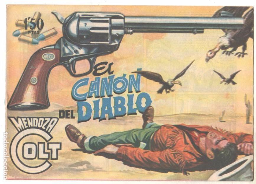 Tebeos: MENDOZA COLT ORIGINAL COMPLETA 1 AL 120 EDI. ROLLAN 1955 MAGNÍFICO ESTADO, DE LUJO - Foto 35 - 66049502