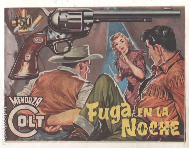Tebeos: MENDOZA COLT ORIGINAL COMPLETA 1 AL 120 EDI. ROLLAN 1955 MAGNÍFICO ESTADO, DE LUJO - Foto 38 - 66049502