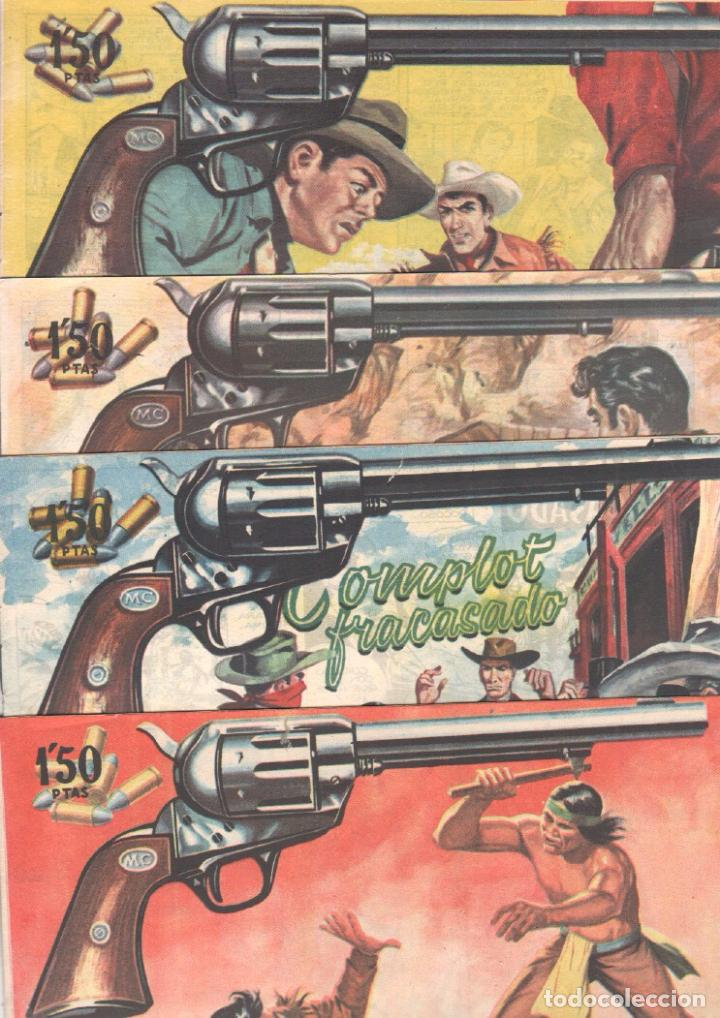 Tebeos: MENDOZA COLT ORIGINAL COMPLETA 1 AL 120 EDI. ROLLAN 1955 MAGNÍFICO ESTADO, DE LUJO - Foto 39 - 66049502