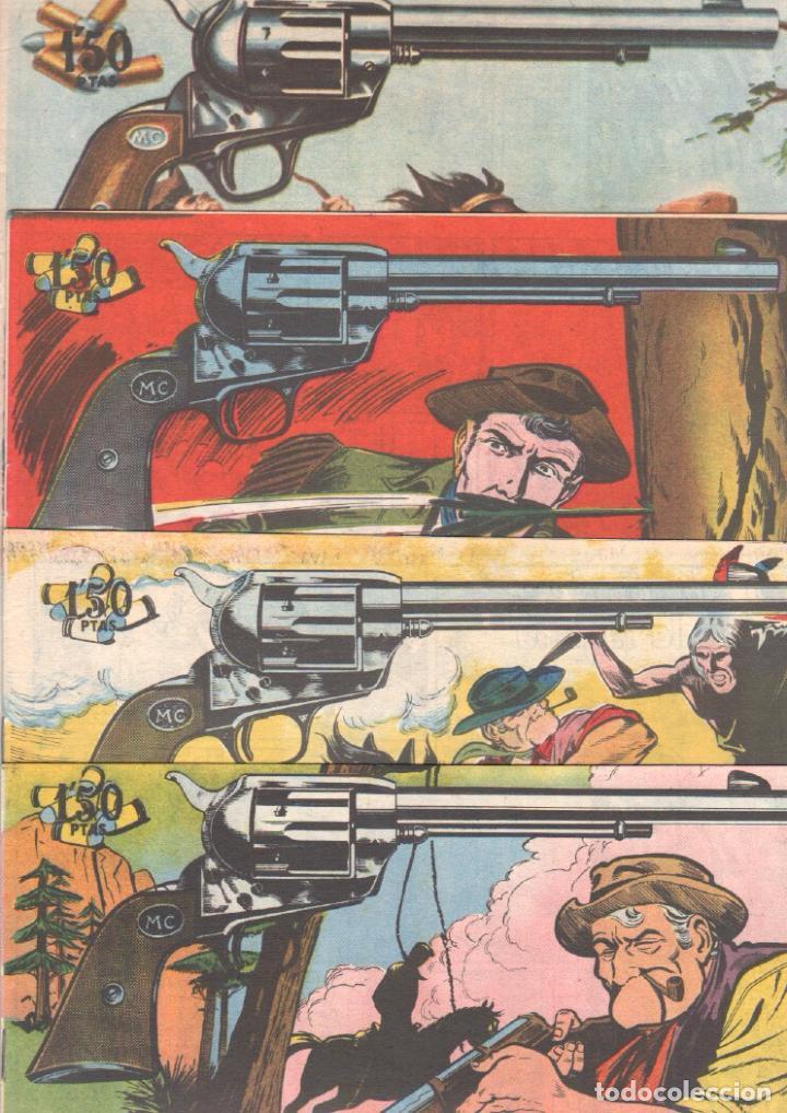 Tebeos: MENDOZA COLT ORIGINAL COMPLETA 1 AL 120 EDI. ROLLAN 1955 MAGNÍFICO ESTADO, DE LUJO - Foto 41 - 66049502