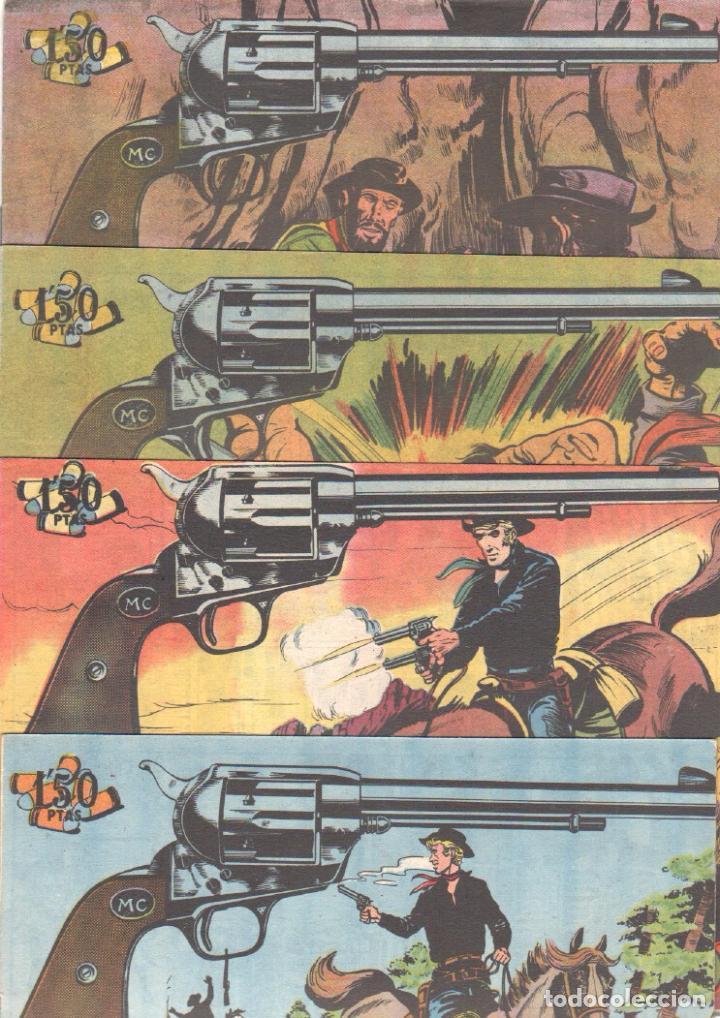 Tebeos: MENDOZA COLT ORIGINAL COMPLETA 1 AL 120 EDI. ROLLAN 1955 MAGNÍFICO ESTADO, DE LUJO - Foto 42 - 66049502