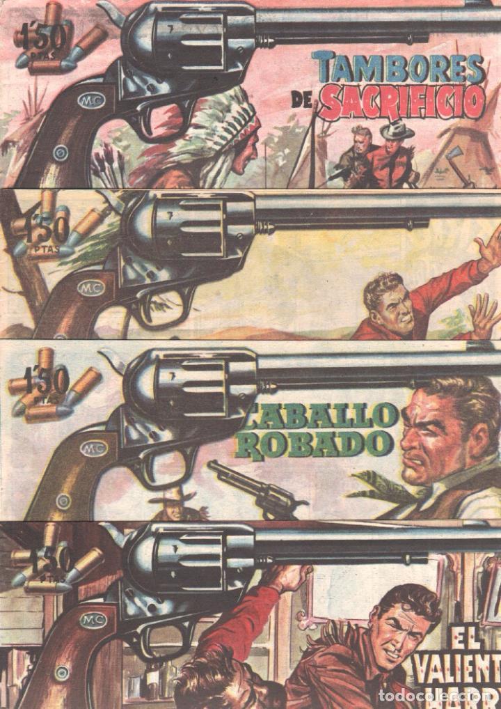 Tebeos: MENDOZA COLT ORIGINAL COMPLETA 1 AL 120 EDI. ROLLAN 1955 MAGNÍFICO ESTADO, DE LUJO - Foto 45 - 66049502