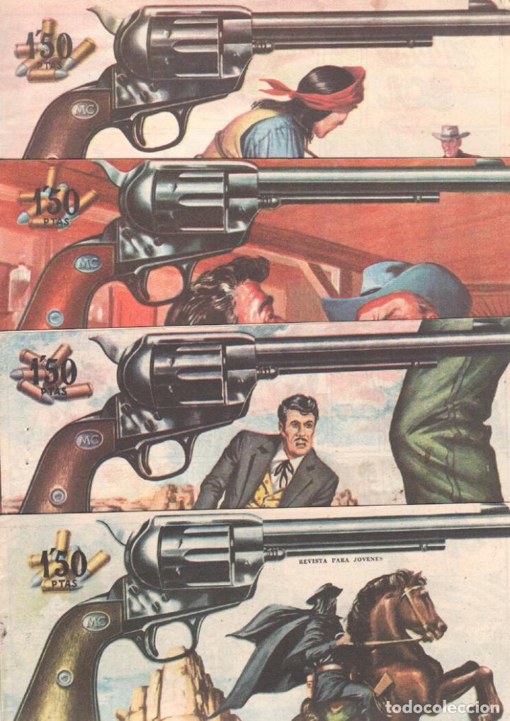 Tebeos: MENDOZA COLT ORIGINAL COMPLETA 1 AL 120 EDI. ROLLAN 1955 MAGNÍFICO ESTADO, DE LUJO - Foto 47 - 66049502