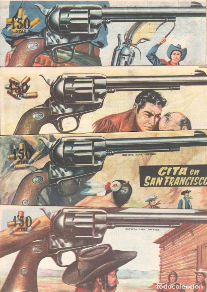 Tebeos: MENDOZA COLT ORIGINAL COMPLETA 1 AL 120 EDI. ROLLAN 1955 MAGNÍFICO ESTADO, DE LUJO - Foto 48 - 66049502