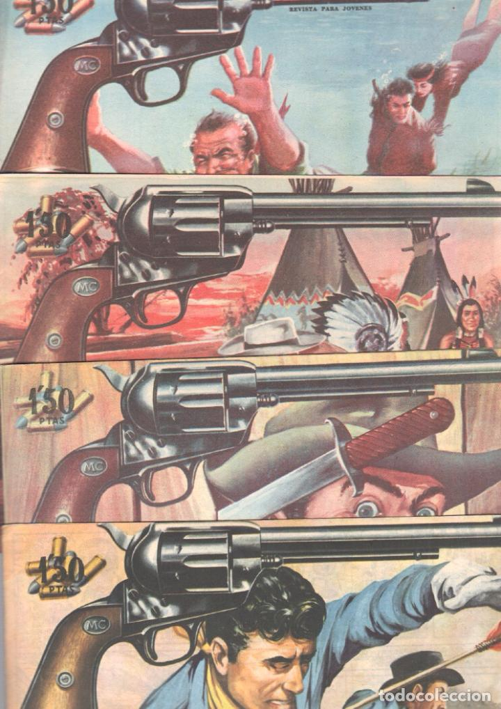 Tebeos: MENDOZA COLT ORIGINAL COMPLETA 1 AL 120 EDI. ROLLAN 1955 MAGNÍFICO ESTADO, DE LUJO - Foto 49 - 66049502