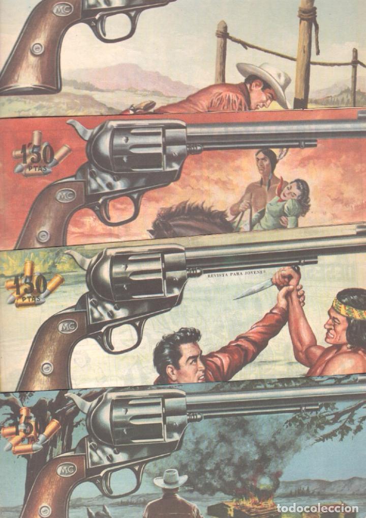 Tebeos: MENDOZA COLT ORIGINAL COMPLETA 1 AL 120 EDI. ROLLAN 1955 MAGNÍFICO ESTADO, DE LUJO - Foto 51 - 66049502