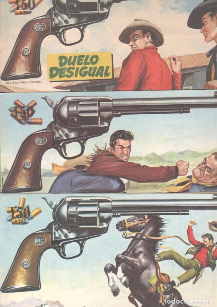Tebeos: MENDOZA COLT ORIGINAL COMPLETA 1 AL 120 EDI. ROLLAN 1955 MAGNÍFICO ESTADO, DE LUJO - Foto 53 - 66049502