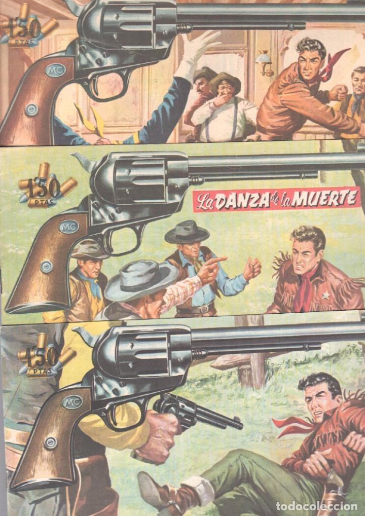 Tebeos: MENDOZA COLT ORIGINAL COMPLETA 1 AL 120 EDI. ROLLAN 1955 MAGNÍFICO ESTADO, DE LUJO - Foto 54 - 66049502