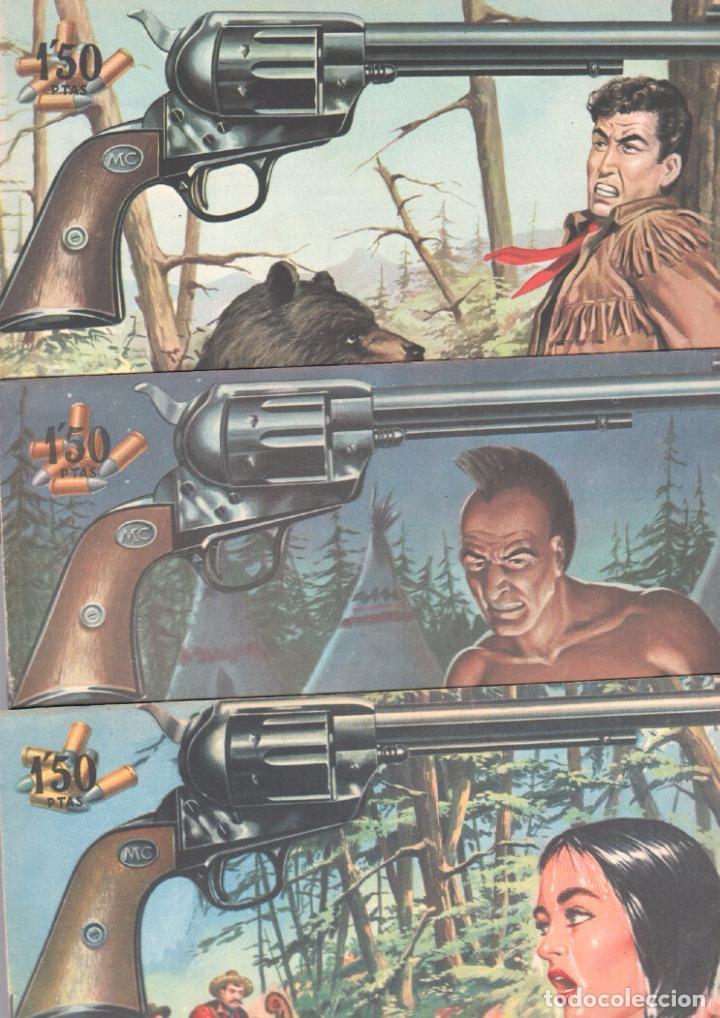 Tebeos: MENDOZA COLT ORIGINAL COMPLETA 1 AL 120 EDI. ROLLAN 1955 MAGNÍFICO ESTADO, DE LUJO - Foto 57 - 66049502