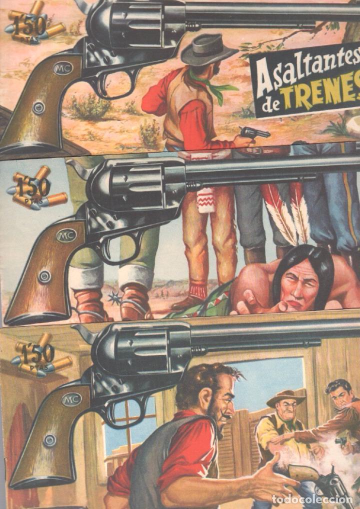 Tebeos: MENDOZA COLT ORIGINAL COMPLETA 1 AL 120 EDI. ROLLAN 1955 MAGNÍFICO ESTADO, DE LUJO - Foto 58 - 66049502