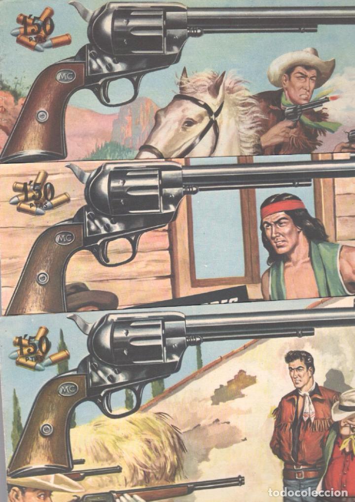 Tebeos: MENDOZA COLT ORIGINAL COMPLETA 1 AL 120 EDI. ROLLAN 1955 MAGNÍFICO ESTADO, DE LUJO - Foto 59 - 66049502