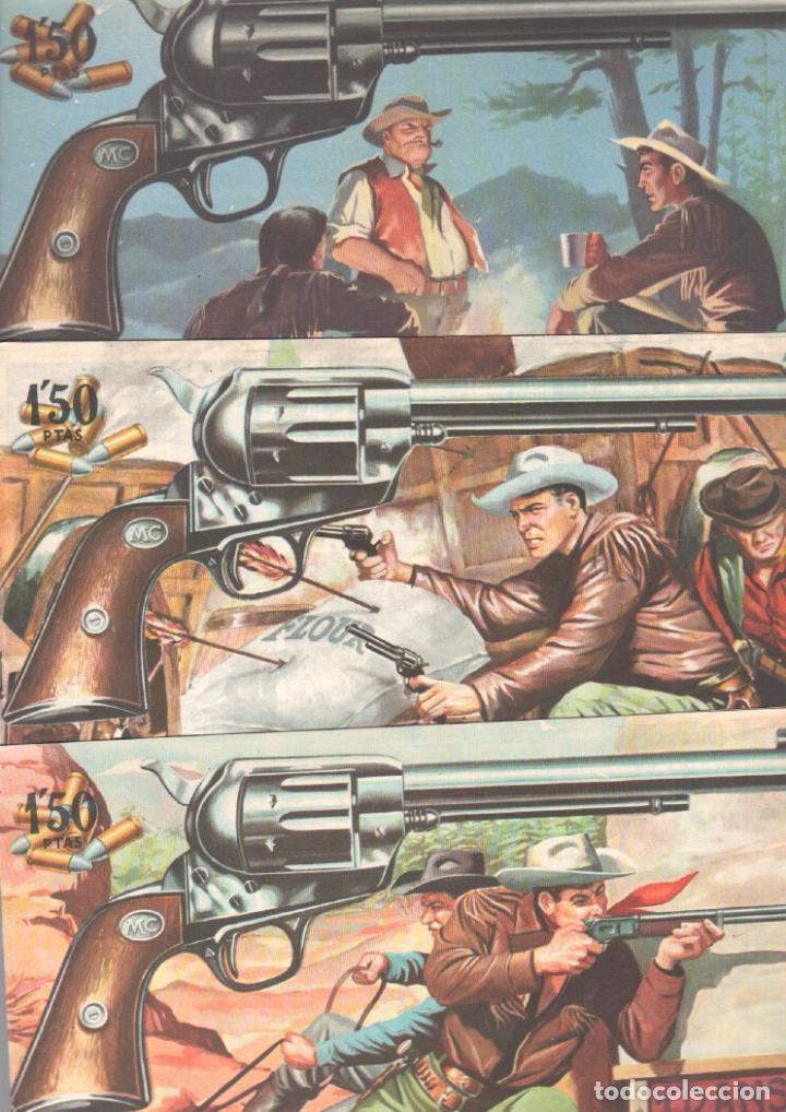 Tebeos: MENDOZA COLT ORIGINAL COMPLETA 1 AL 120 EDI. ROLLAN 1955 MAGNÍFICO ESTADO, DE LUJO - Foto 60 - 66049502