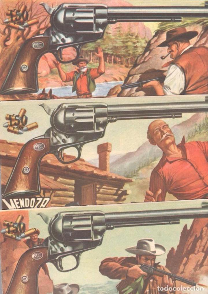 Tebeos: MENDOZA COLT ORIGINAL COMPLETA 1 AL 120 EDI. ROLLAN 1955 MAGNÍFICO ESTADO, DE LUJO - Foto 62 - 66049502