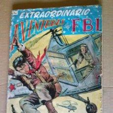 Tebeos: EXTRAORDINARIO AVENTURAS DEL FBI Nº 4- ROLLAN- ORIGINAL. Lote 67316513