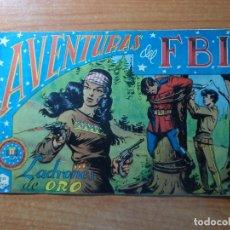 Tebeos: AVENTURAS DEL FBI Nº 45 EDITORIAL ROLLAN ORIGINAL . Lote 67332441