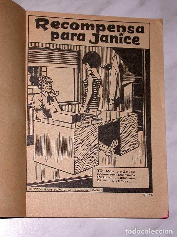 Tebeos: RECOMPENSA PARA JANICE. RITMO Y CORAZÓN Nº 16. EDITORIAL ROLLÁN, 1966. PORTADA DE MIRALLES. ++++ - Foto 2 - 67653885