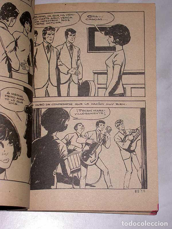Tebeos: RECOMPENSA PARA JANICE. RITMO Y CORAZÓN Nº 16. EDITORIAL ROLLÁN, 1966. PORTADA DE MIRALLES. ++++ - Foto 3 - 67653885