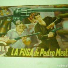 Tebeos: MENDOZA COLT Nº 7 LA FUGA DE PEDRO MESTIZO EDIT ROLLAN. Lote 68690369