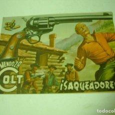 Tebeos: MENDOZA COLT Nº 14 SAQUEADORES ORIGINAL. Lote 68773297