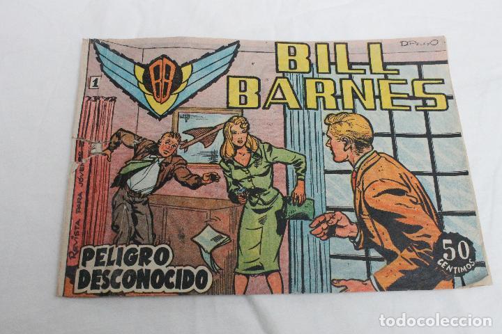 COMIC BILL BARNES Nº 1, EDITORIAL ROLLAN, MADRID 1961 (Tebeos y Comics - Rollán - Otros)
