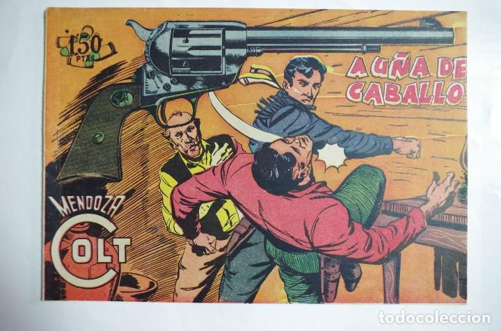 MENDOZA COLT Nº 109 - E. ROLLAN - ORIGINAL (Tebeos y Comics - Rollán - Mendoza Colt)