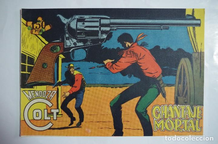 MENDOZA COLT Nº 107 - E. ROLLAN - ORIGINAL (Tebeos y Comics - Rollán - Mendoza Colt)