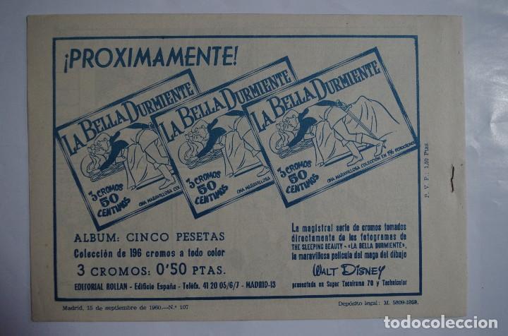 Tebeos: MENDOZA COLT Nº 107 - E. ROLLAN - ORIGINAL - Foto 2 - 69759561