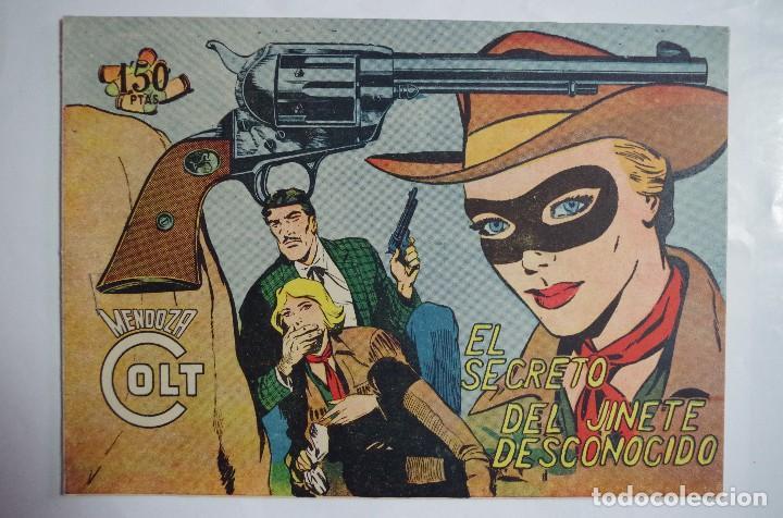 MENDOZA COLT Nº 106 - E. ROLLAN - ORIGINAL (Tebeos y Comics - Rollán - Mendoza Colt)