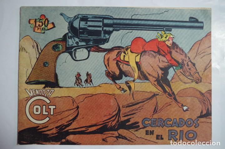 MENDOZA COLT Nº 105 - E. ROLLAN - ORIGINAL (Tebeos y Comics - Rollán - Mendoza Colt)