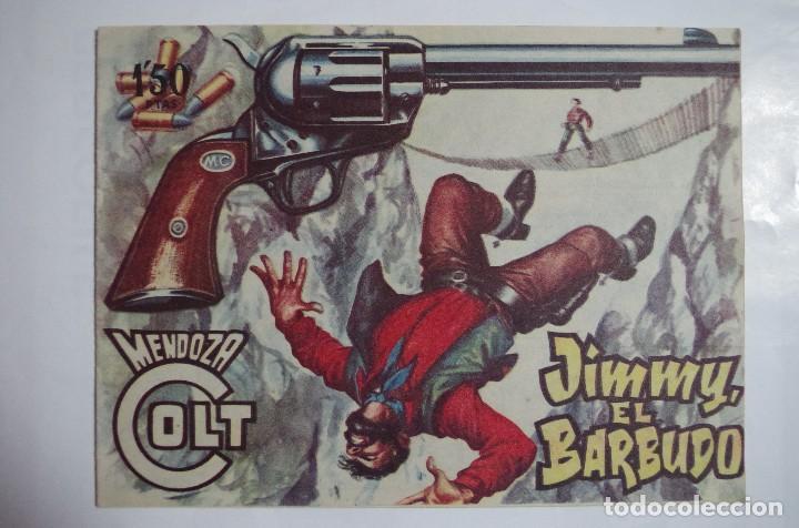 MENDOZA COLT Nº 74 - E. ROLLAN - ORIGINAL (Tebeos y Comics - Rollán - Mendoza Colt)