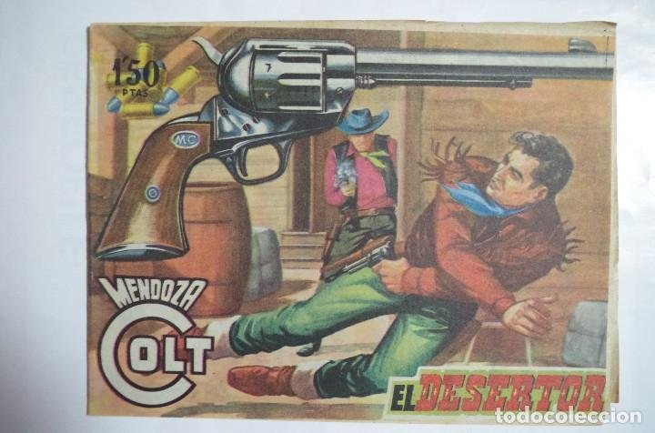 MENDOZA COLT Nº 75 - E. ROLLAN - ORIGINAL (Tebeos y Comics - Rollán - Mendoza Colt)